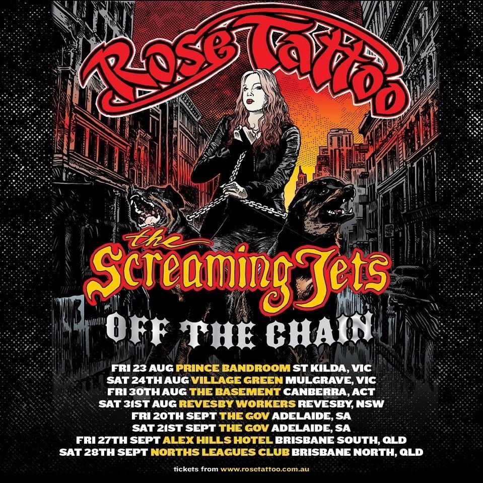 Rose Tattoo | The Official Website - Australian Rock N Roll Band